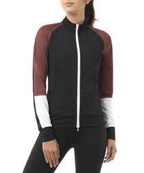 featherweight black zip jacket