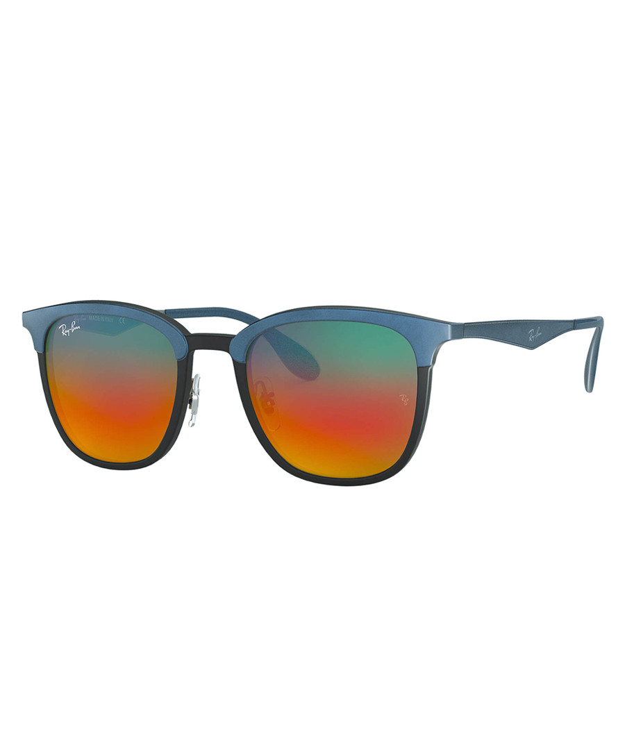 Wayfarer black & blue sunglasses Sale - ray-ban