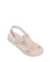 Ever ash rubber sandals