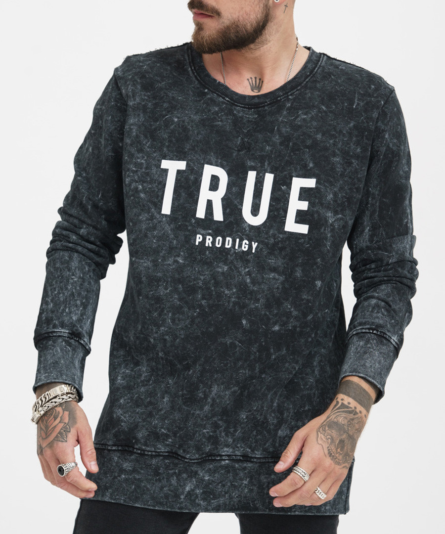 khaki wash pure cotton jumper Sale - true prodigy