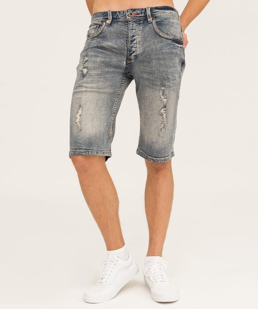 stone wash cotton shorts Sale - true prodigy
