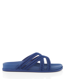 Salinas navy rope sandals