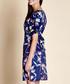 navy & tropical birds dress Sale - yumi Sale