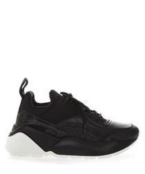 Eclypse black low-top sneakers