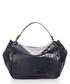 Elle navy moc-croc leather shoulder bag Sale - scui studios Sale