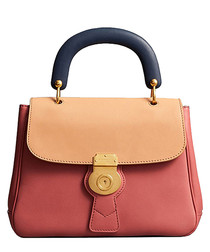 The Medium DK88 pink leather grab bag