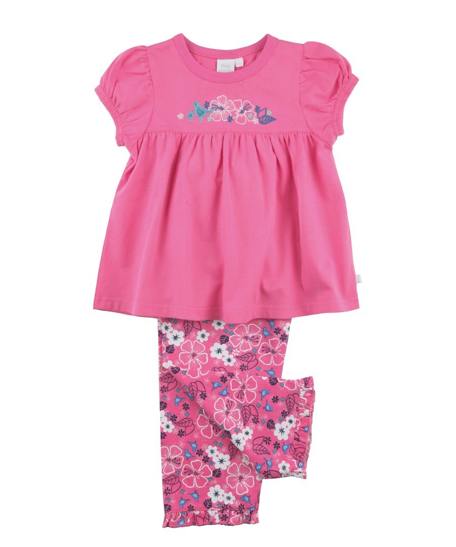 Girls Floral Pyjamas Sale - Mini Vanilla