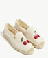 Embroidered cherry espadrilles Sale - Soludos Sale
