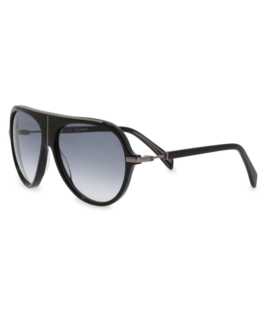 black pilot sunglasses Sale - balmain