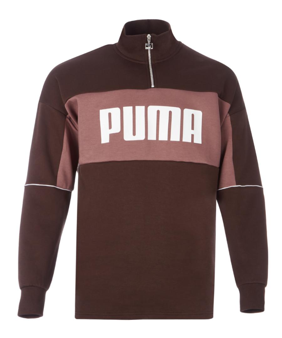 Retro Crew brown rib neck jacket Sale - puma