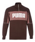 Retro Crew brown rib neck jacket Sale - puma Sale