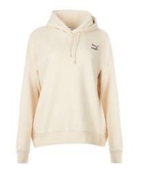 Retro cream hoodie
