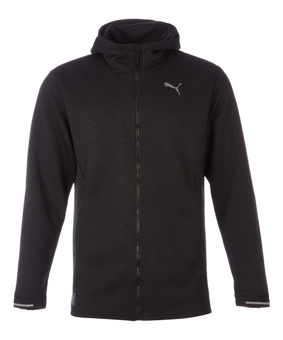 N.R.G. black full-zip jacket Sale - puma