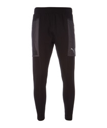 N.R.G. Actum black tracksuit bottoms