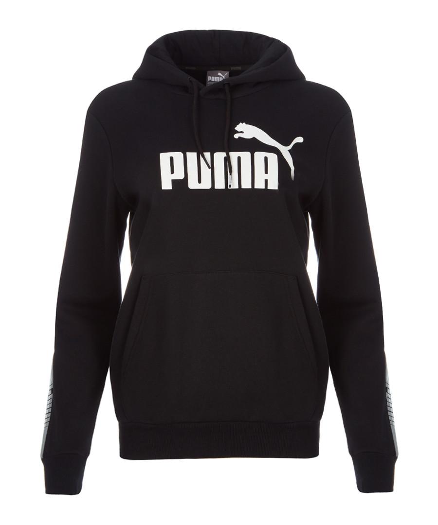 Tape black classic hoodie Sale - puma