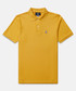 Classic ochre cotton polo shirt Sale - psycho bunny Sale