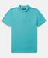 Classic turquoise cotton polo shirt Sale - psychobunny Sale