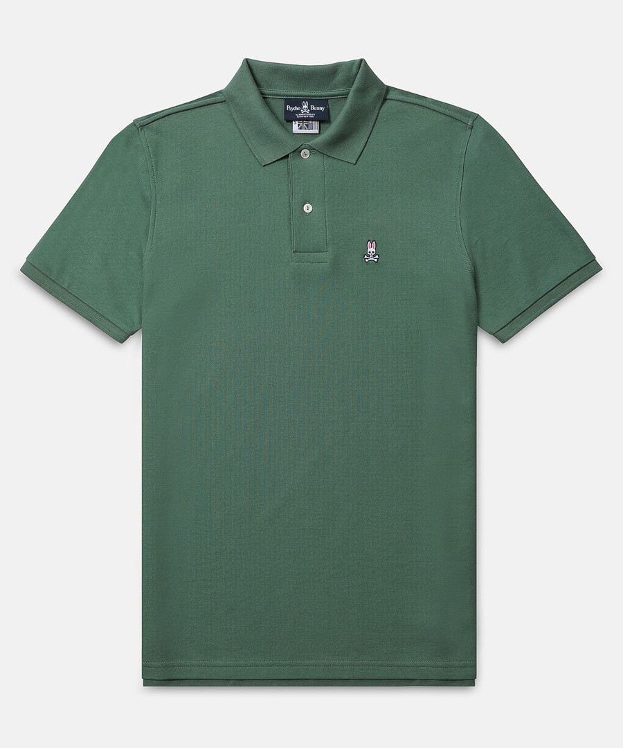 Classic pine cotton polo shirt Sale - psycho bunny