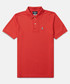 Classic red cotton polo shirt Sale - psychobunny Sale