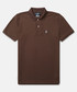 Classic coffee cotton polo shirt Sale - psychobunny Sale
