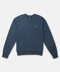 Donegal marine pure cotton jumper