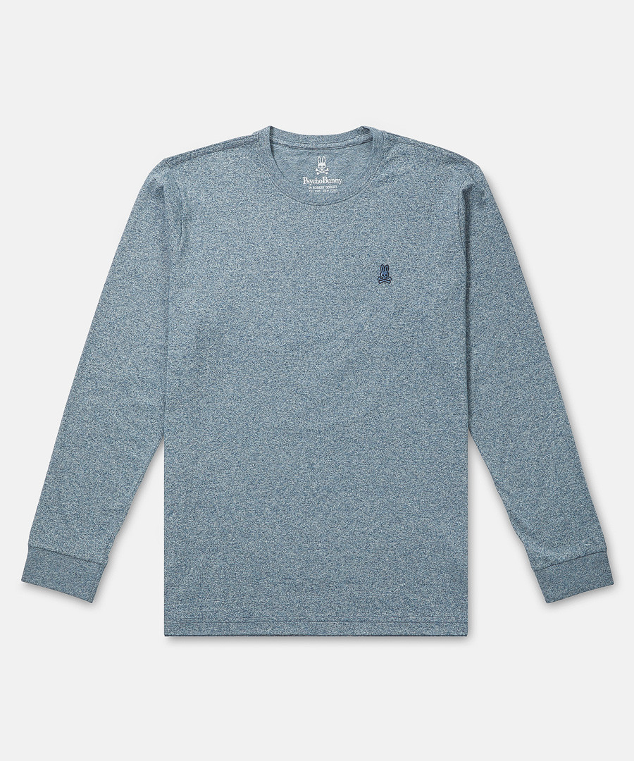 Classic pewter pure cotton jumper Sale - psycho bunny