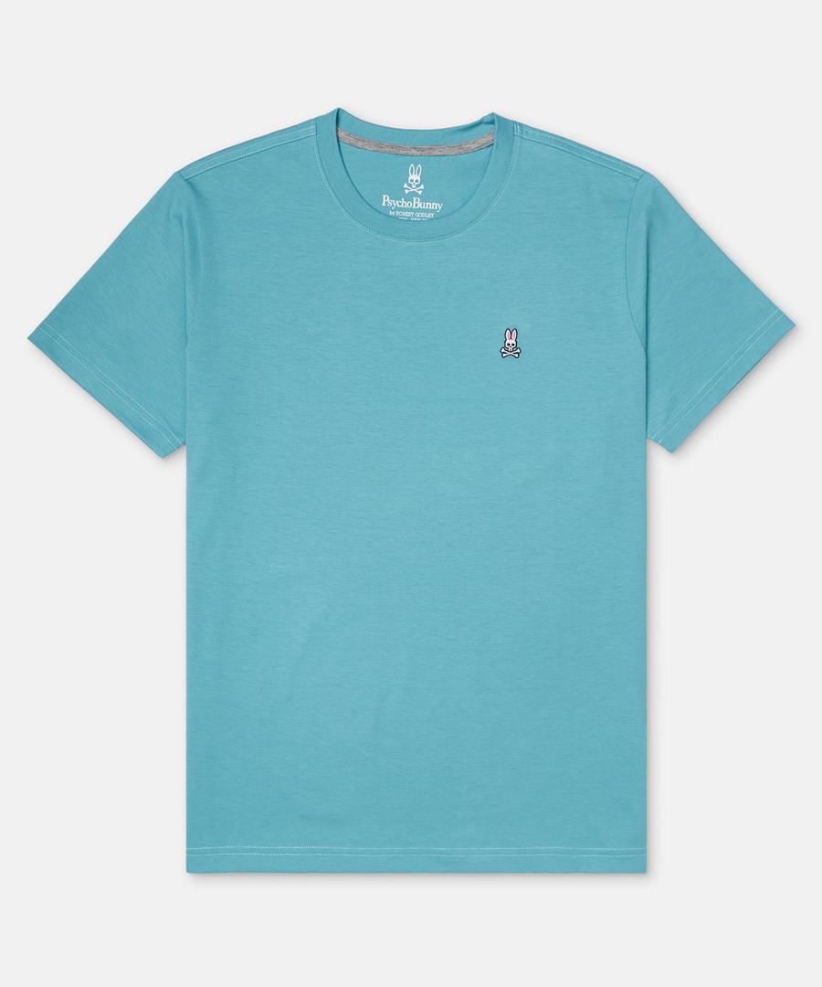 Classic aqua pure cotton T-shirt Sale - psychobunny