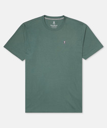 Classic sea green pure cotton T-shirt