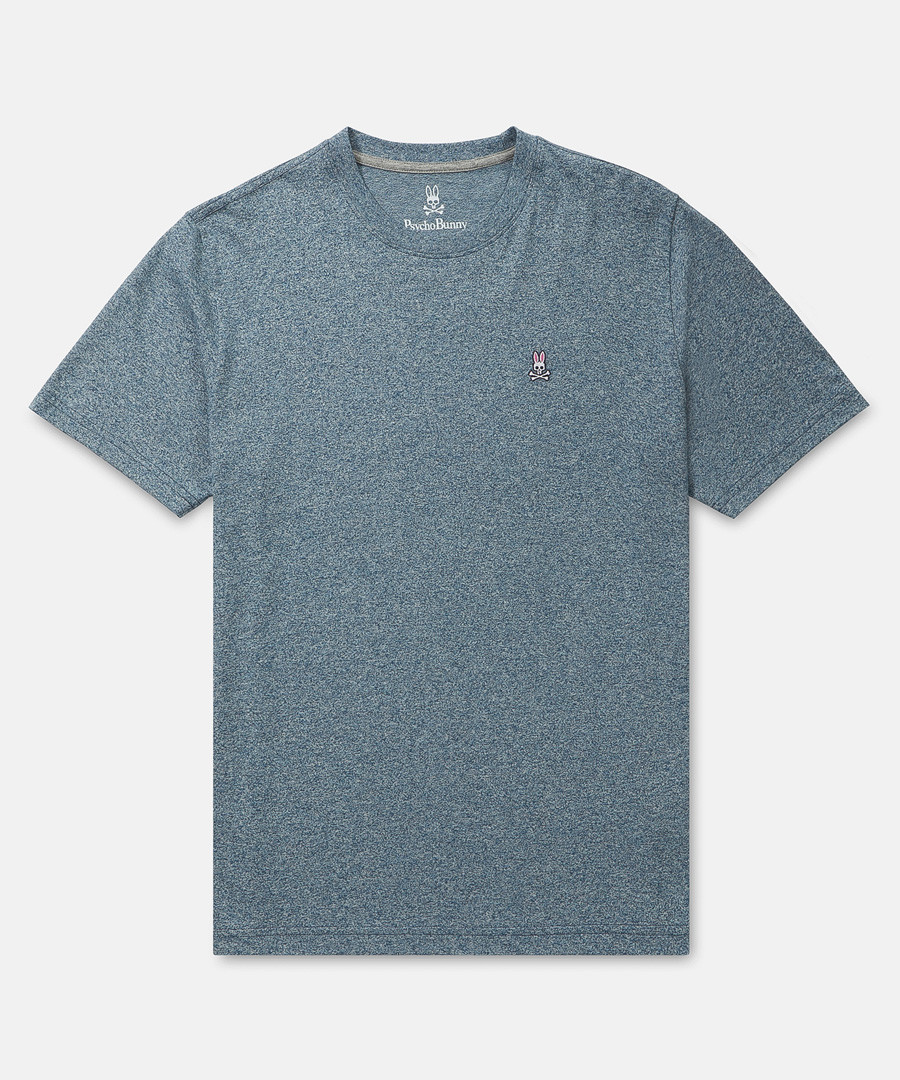 Classic pewter pure cotton T-shirt Sale - psycho bunny