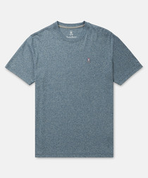 Classic pewter pure cotton T-shirt
