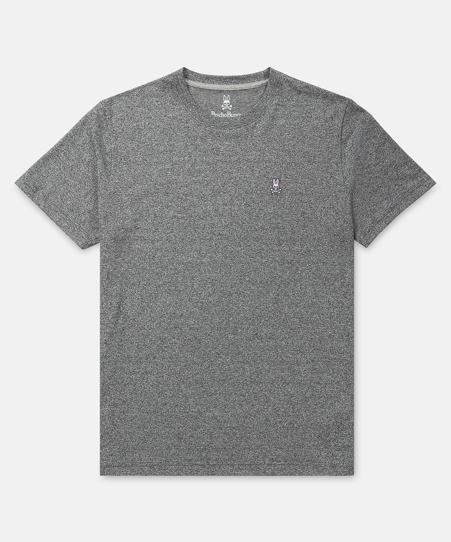 Classic grey pure cotton T-shirt Sale - psycho bunny