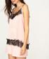 pale pink & black lace blouse Sale - zibi london Sale