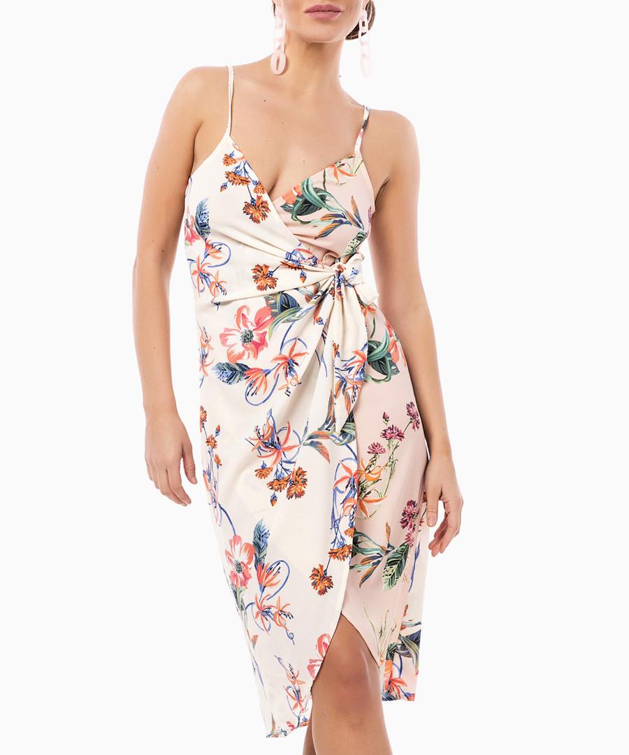 rose floral wrap dress Sale - zibi london