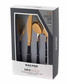 16pc noir gold-tone steel cutlery set Sale - salter Sale