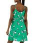 jade floral V-neck mini dress Sale - zibi london Sale