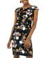 black floral sleeveless dress Sale - zibi london Sale