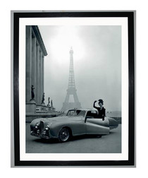 France 1947 framed print 40cm