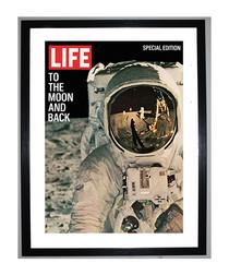 Life Cover framed print 40cm
