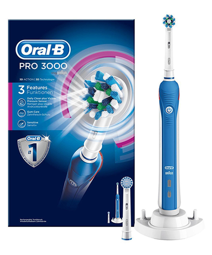 Power Pro 3000 cross action toothbrush Sale - oral b