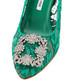 Hangisi green lace mid stilettos Sale - manolo blahnik Sale