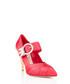 Peony satin Swarovski embellished heels Sale - miu miu Sale
