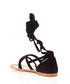 Black suede tie-up sandals Sale - prada Sale
