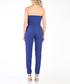 Royal blue strapless jumpsuit Sale - carla by rozarancio Sale