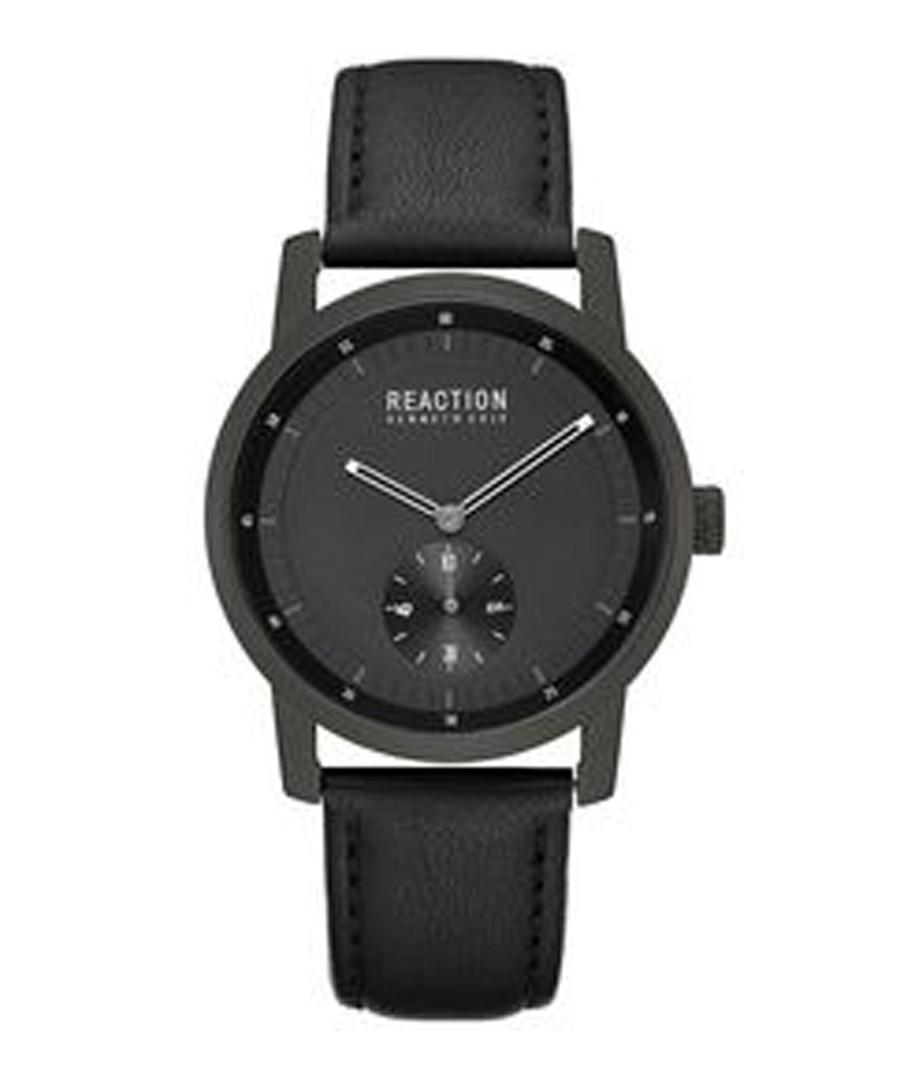 All black strap watch Sale - ken cole