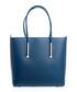 Chiusi blue leather shopper bag Sale - lucca baldi Sale