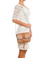 Santa fiora tan leather crossbody Sale - lucca baldi Sale