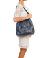 Vinci blue leather shoulder bag Sale - lucca baldi Sale