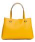 Monte terminillo yellow leather shopper Sale - pia sassi Sale