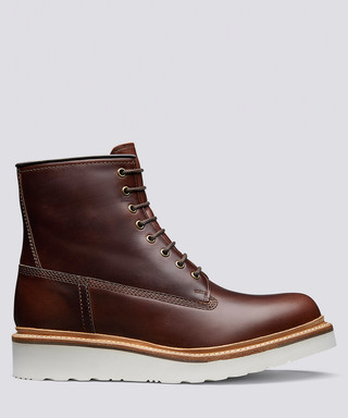 f1f7bff7a9a Arnold chestnut leather boots Sale - Grenson Sale