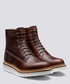 Arnold chestnut leather boots Sale - Grenson Sale